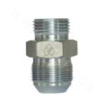 1QO  metric system external thread 74° external cone/SAE external thread with O ring light series ISO 11926-3