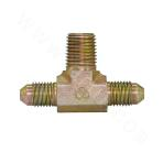 AJNJ American system JIC external thread 74° external cone/taper pipe external thread branch tee