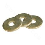 Flat Washer 100HV Yellow Zinc Plated