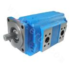 7600 Series High Pressure Large Displacement Rolling Bearing Gear Pump