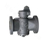 Class400 Lubricated plug valves Type28 VenturiPatternGearOperated