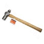 Wooden Handle Ball Hammer 40oz
