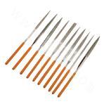 10-Pieces Diamond Needle File (3×140 mm)