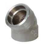 GB 12Cr1MoV Socket Welded 45° Elbow