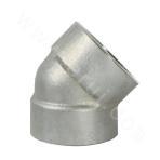 GB 304L Socket Welded 45° Elbow