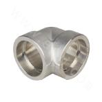 GB 316L Socket Welded 90° Elbow