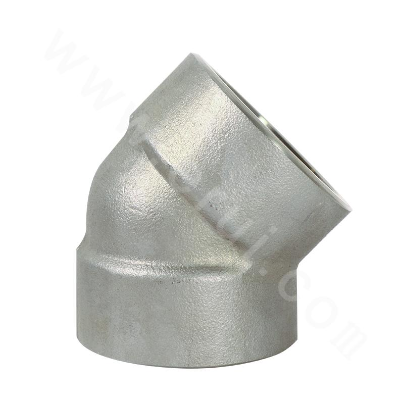 GB Q295 Socket Welded 45° Elbow