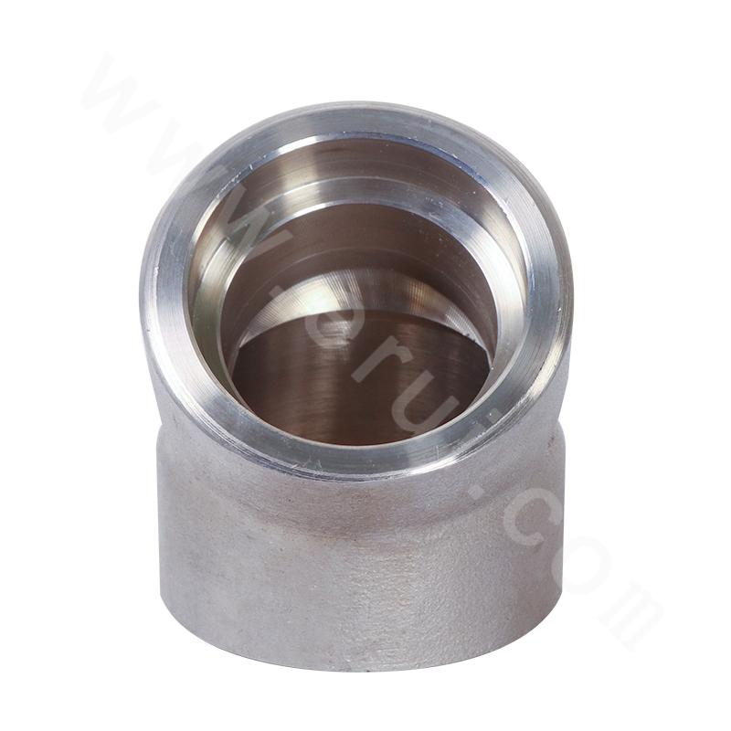 GB 316L Socket Welded 45° Elbow