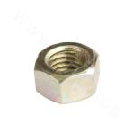 25Cr2MoV Hex Nut - Yellow Zinc Plated