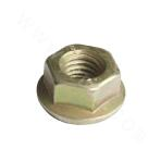 Q235B Hexagon Flange Nut - Yellow Zinc Plated