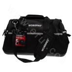 "Toolkit 16"" Waterproof Multi-functional Tool Bag with Plastic Bottom"