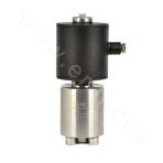 Piston-type direct acting high pressure (ultrahigh pressure) solenoid valve