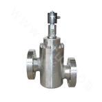 Piston pilot-type high pressure (ultrahigh pressure) anti-explosion solenoid valve