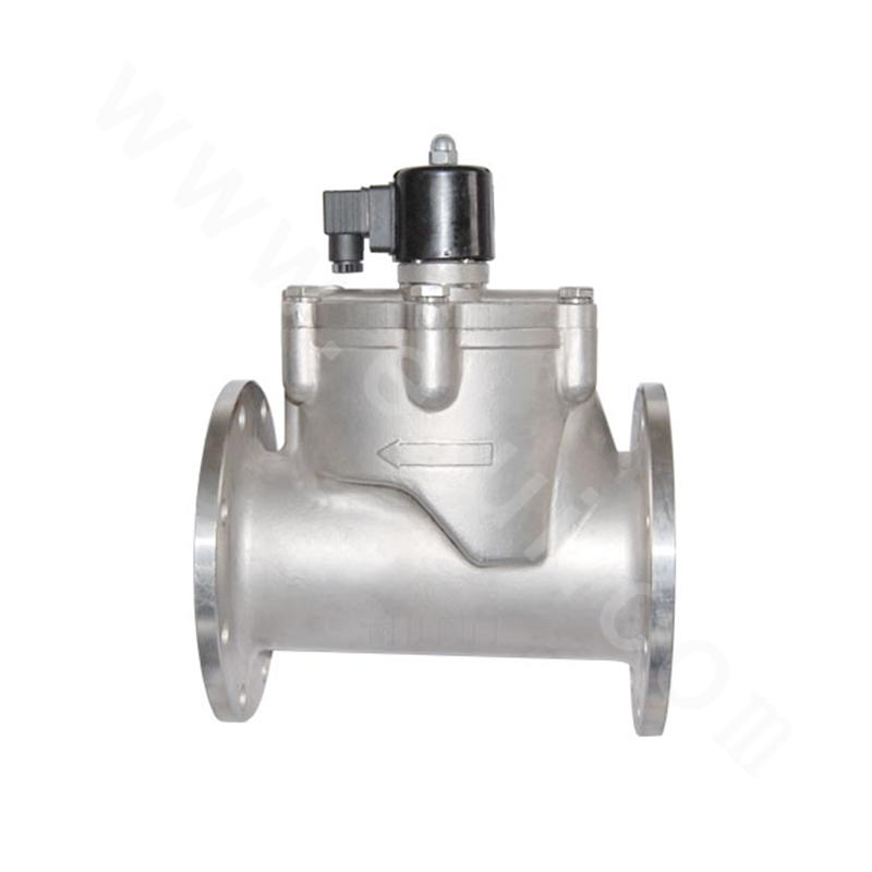 Piston-type Pilot-operated CNG Solenoid Valve (Flange Connection)