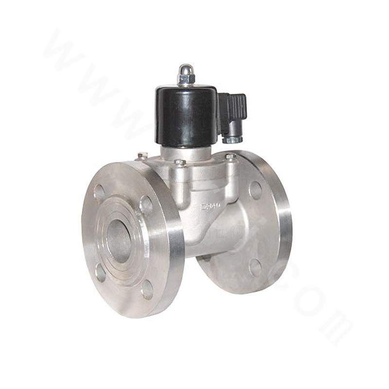 Piston-type Pilot-operated Explosion-proof Steam Solenoid Valve (Flange Connection)