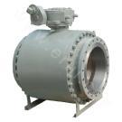 Фиксированный шариковый клапан для трубопровода из кованной стали
