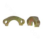 FL SAE split flange clamp 3000 PSI ISO 6162-SAE J518