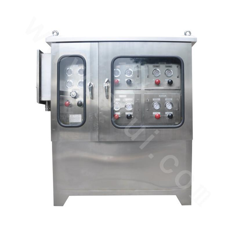 Multi-well control panel