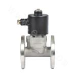 Piston-type direct acting fuel gas solenoid valve (flange connection)
