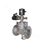 Piston-type Direct Acting Self-holding Anti-explosion Solenoid Valve (Flange Connection)