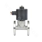 Piston-type Direct Acting Waterproof Solenoid Valve (Flange Connection)