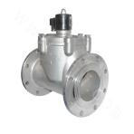 Piston type distribute direct acting LNG electromagnetic valve(Flange Connection)
