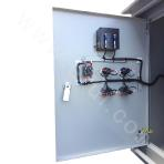 Pumping unit motor control cabinet