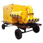 KDFY400 series vacuum assisted trailer type mobile pump station