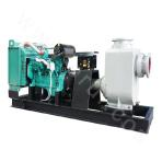 ZW300 Diesel Engine Self-priming Sewage Pump