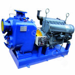 JTH Diesel Engine Strong Self-priming Sewage Pump