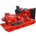 D-100 High Head Diesel Engine Multistage Centrifugal Pump