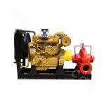 XBC-KD400 series diesel engine double-suction fire pump set