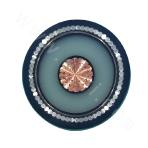 Three-core Copper 3.6-6KV Cross-linked Polyethylene Insulated Non-magnetic Metal Wire Armored PVC Sheathed Power Cable