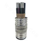 Three-core Aluminum 21/35KV Cross-linked Polyethylene Insulated Thin Steel Wire Armored PVC Sheathed Power Cable