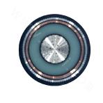 Single-core Aluminum 21/35KV Cross-linked Polyethylene Insulated Thick Steel Wire Armored PVC Sheathed Power Cable