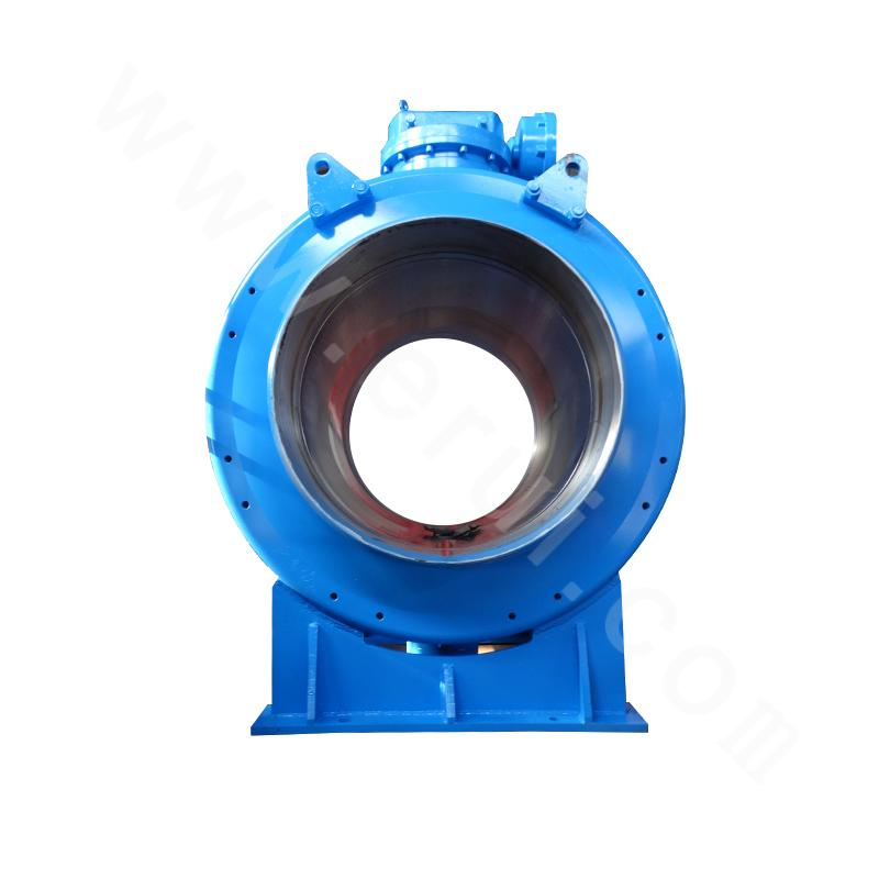 Reduced bore fixed ball valve