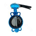 Middle line sealing butterfly valve