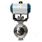 Double-eccentric Wafter Type Butterfly Valve