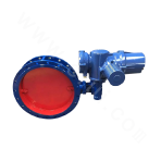 Electric aeration butterfly valve