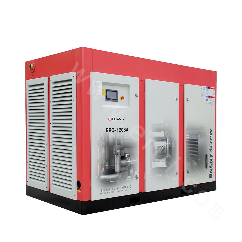 Two-stage Compression Double Screw Air Compressor