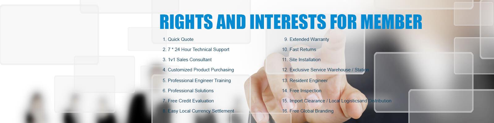 Membership rights