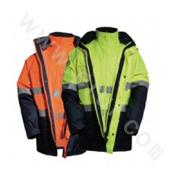KC011806 Hi-visibility Jacket With 3M Tape