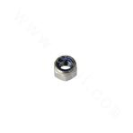 ANSIB18.16.6-316 thick hex nylon jam nut (white nylon) (small)