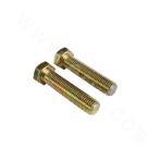 DIN933-45# Hex head bolt - zinc plating-yellow