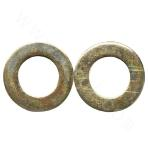 GB95-Q235BC Flat Washer - Yellow Zinc Plated