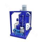 Vacuum centrifugal degasser