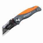 Quick Change Folding Lock-Back Utility Knife