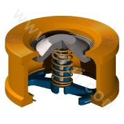 Double-flap Swing Check Valve