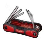 9PC.Folding Hex Key Set