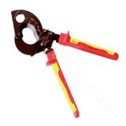 VDE insulated ratcheting cable cutters